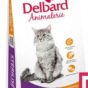 Croquettes Chat Sterilisé Delbard Volaille 2Kg