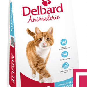 Croquettes Chat Adulte Delbard Poisson 2Kg