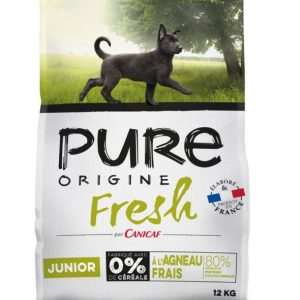 Croquettes Pure Origine Fresh Junior Dinde 12Kg