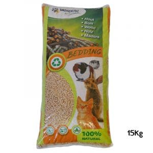 Litière Bedding Bois 100% Naturel 15Kg