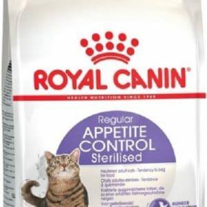 Croquettes Royal Canin Appetite Control Sterilisé 4Kg