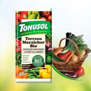 Terreau Maraîcher bio Tonusol 40L