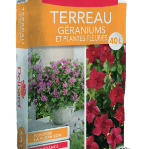 Terreau Geraniums et Pltes Fleuries 40l