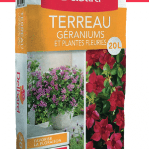 Terreau Geraniums et Pltes Fleuries 20L