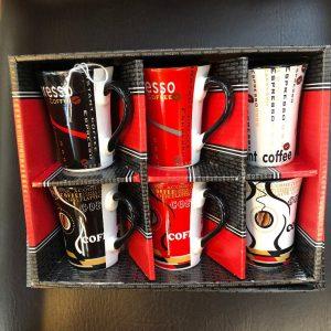 Coffret 6 Tasses à Café