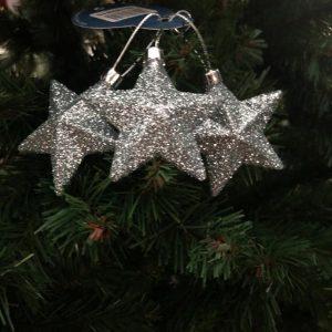3 Suspension de Noël étoile