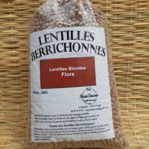 Lentilles Blondes Flora Berrichonnes 500g