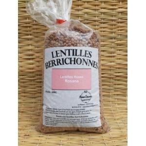 Lentilles Roses Rosana Berrichonnes 500g