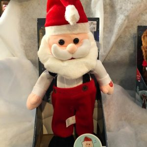 Peluche Musicale Père Noël dansant